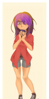 The tea drinker by Samritaaa
