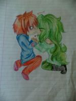 Kiss you *hisses* by KittyNinja2009