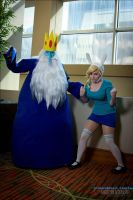 Awkward Time with Fionna and IK by srsRazzmatazz