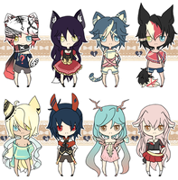100 ADOPTS AUCTION PT 1 {C L O S E D| |THANKYOU} by chuguri