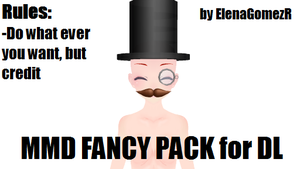 MMD Fancy Pack by ElenaGomezR by ElenaGomezR