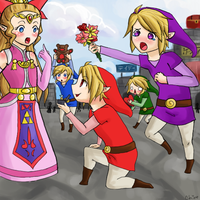 We love you Zelda by xXChireXx