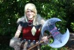Astrid Hofferson Cosplay by GirlWithTheWolfHood