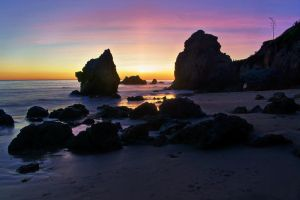 Sunset at El Matador by ariseandrejoice