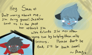 E7-A letter for you by LittleWhiteWolfAngel