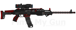 T.I. AKM-1000 Assault Rifle by Lord-DracoDraconis