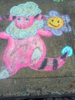 Chalk: Flaaffy by YuniNaoki