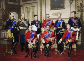 Nine Kings at the Funeral of Edward VII 1910 by Wolfhound63
