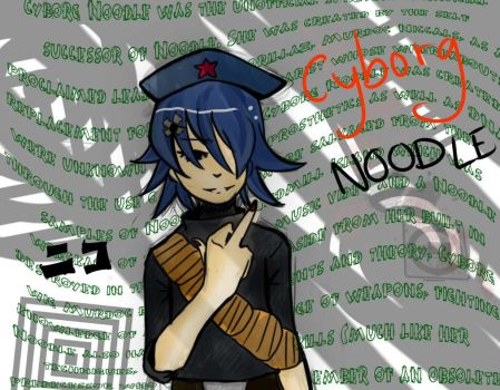 cyborg nood .|. by StrawberryChocolate1