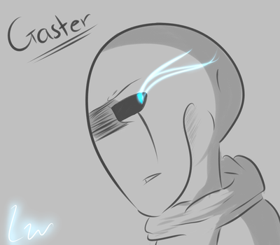 Classic Gaster icon by Linkwolf64