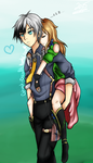 Siv n Ludger by Ghost-Occult