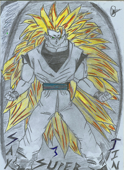 Super Saiyan 3_Goku by AssassinWk19
