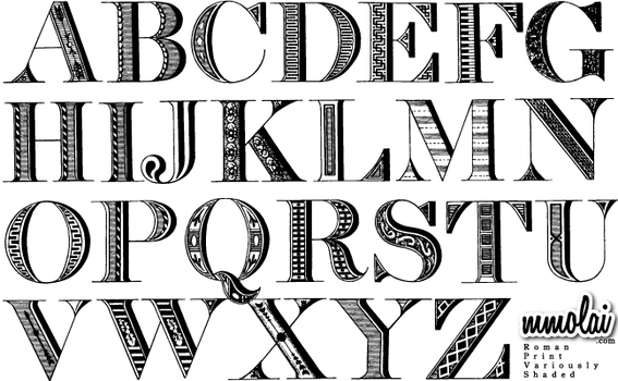 Vector Typeface:RPVS by mmolai