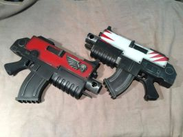 Warhammer 40k Bolters x2 by Matsucorp