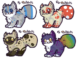 5 Point Kitten Adopts CLOSED by PineapplesDogs