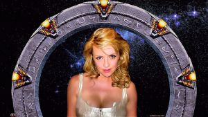 Amanda Tapping Stargate Hottie by Dave-Daring