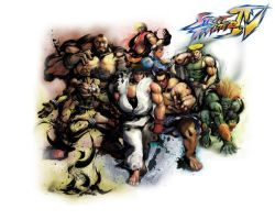 Street Fighter IV Wallpaper by tehShane