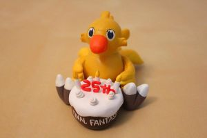 An Anniversary Chocobo by lonelysouthpaw