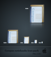 Notebook Icon Pack by mrspokemon