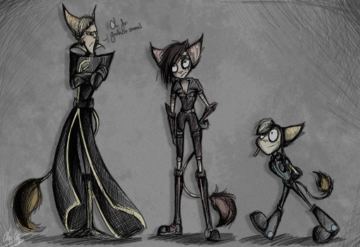 A bit of Tim Burton by BlueStripedRenulian