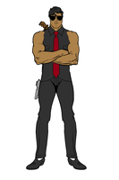Agent T by TicklishBlackGuy