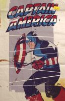 Captain America Poster Art by WEB99