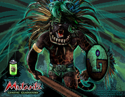 Jaguar God - Mutants: Genetic Gladiators by R1VENkassle