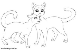 Cat Love Template 2 - for Paint by RukiFox