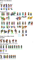Pokemon Ranger Force Character list by Wolf-Prince-Leon