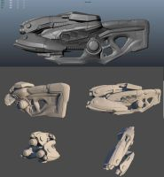 Pulse Cannon W.I.P 2 by ravital