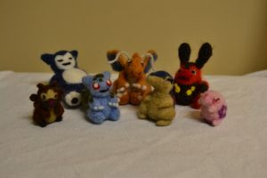 Needle Felted For Sale 1 by feltieflaffy