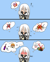 Haneuma to Same - The birthday present by ChibiChibiSha