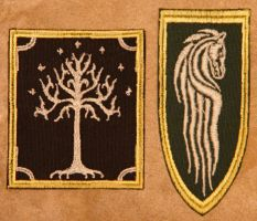 Lord of the Rings patches by rogueymu