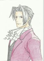 Miles Edgeworth IV by SweetL