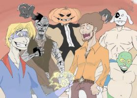 A Bunch Of Villains by Kapalsky