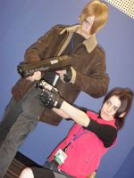 Otakuthon2010- Claire and Leon by Julika-Nagara