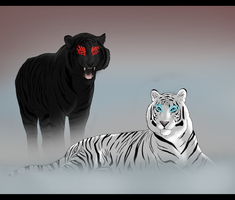 Temperance Tigers by Control-the-Chaos
