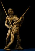 Father and Son sculptures by ghoff24
