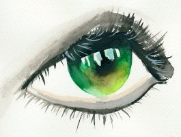 Green Eye by AnhPho
