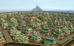 Anno 1404 - Asian Town by Shroomworks