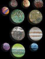 Large Planets by chundertunt