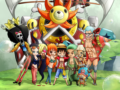 One Piece: Say Meat!! (re-upload) by DogloverXD