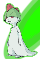 Ralts by goosechimera