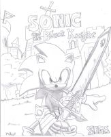 Sonic and the Black Knight by SpongeDudeCoolPants
