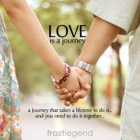 Love is a Journey by froztlegend