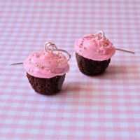 Homemade Cupcake Earrings 2 by FatallyFeminine