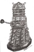 Pencil Dalek by lizzie9009