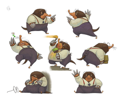 Mole - The Wind In The Willows by nik159