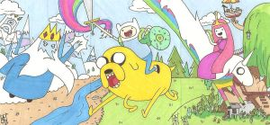 Adventure Time SC by Elvatron