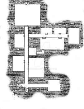 Dungeon Map by Rauthik